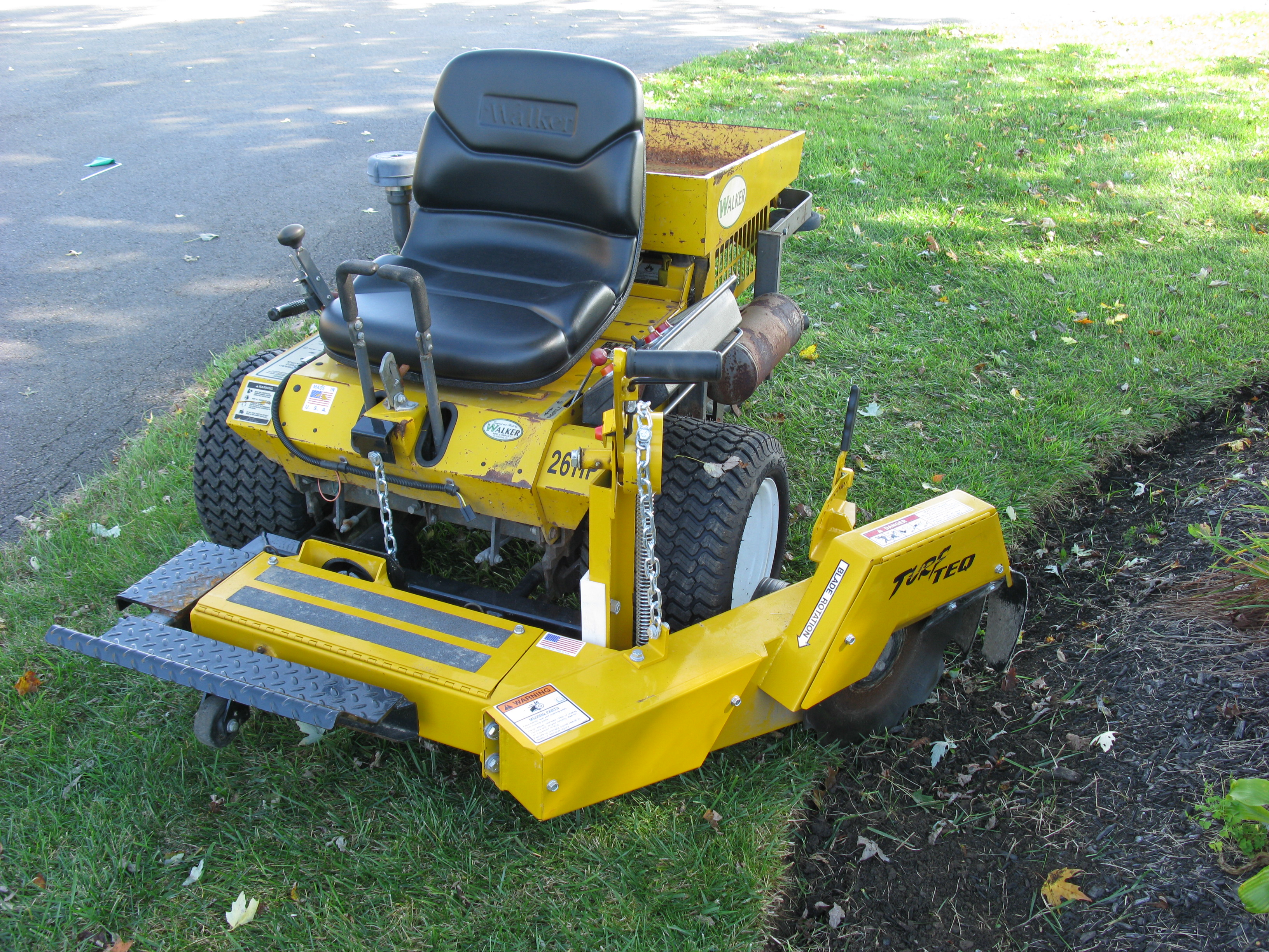 And hustler mower attachments